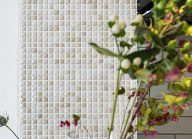 mosaic tile × Flower