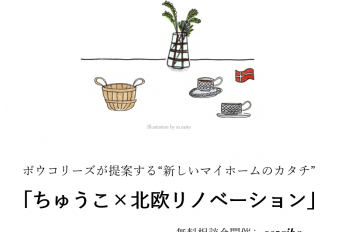 ちゅうこ×リノベーション相談会