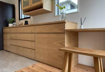 humming-7 キッチンとオリジナル家具