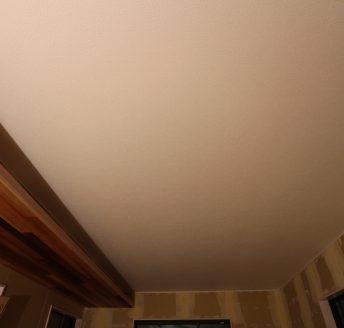 天井は壁紙仕上げ♪