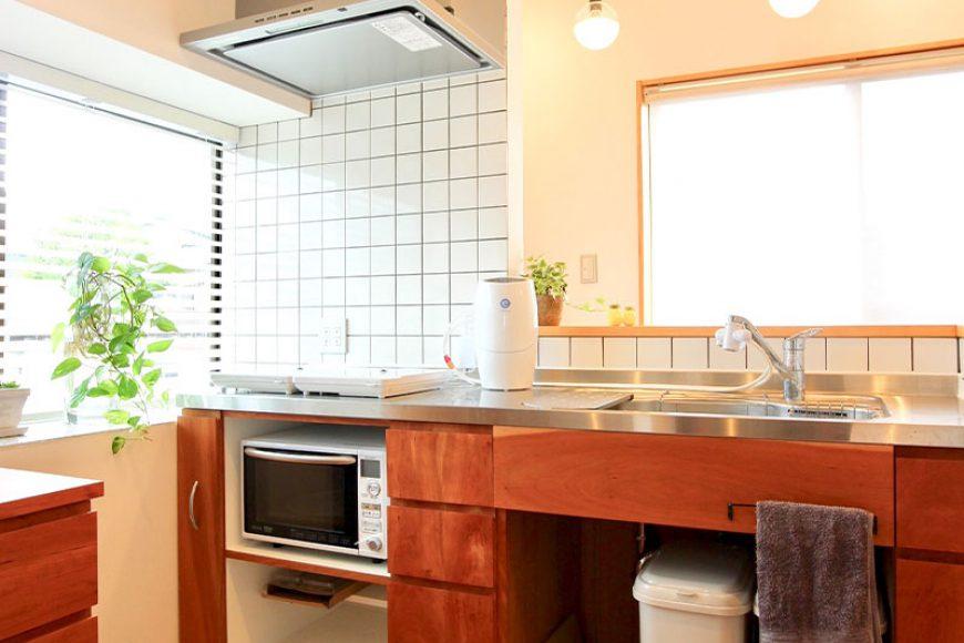 お持ちの設備機器に合わせたオリジナルキッチン。